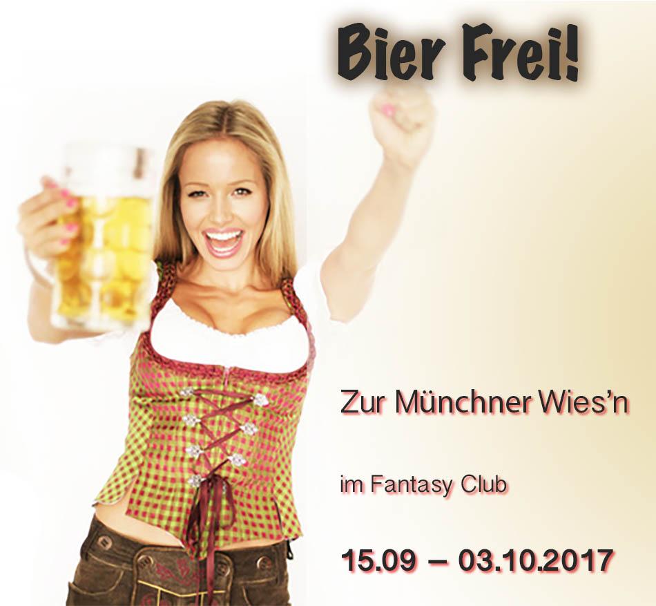 attraktive Frau in Trachten - FKK CLUB München